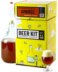 Kit à bière tout grain - Beer Kit Intermédiaire, je brasse une bière ambrée