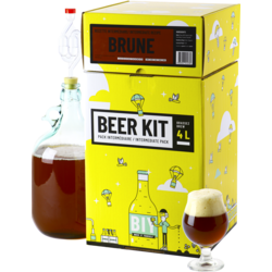 Kit à bière tout grain - Beer Kit Intermédiaire Bière Brune
