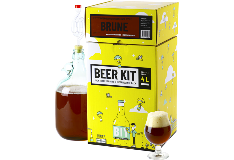 Kit ricette per tutti i grani - Beer Kit Intermédiaire Brune