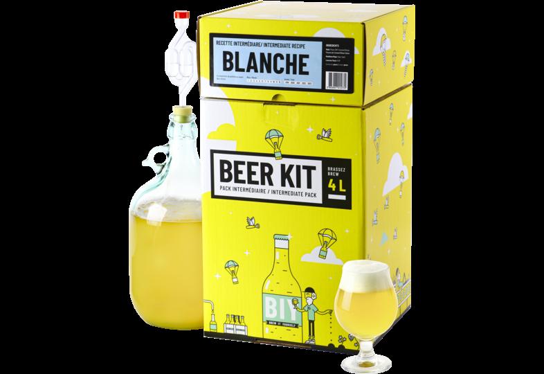 Kit à bière tout grain - Beer Kit Intermédiaire, je brasse une bière Blanche