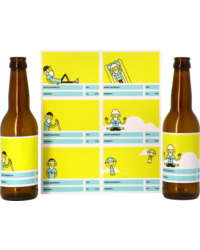 Kit de bière tout grain - Customizable labels