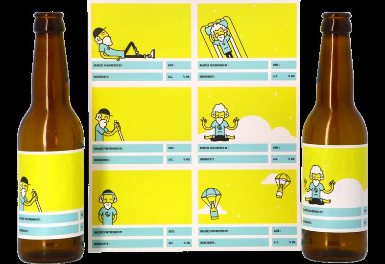 Kit de bière tout grain - Customizable labels