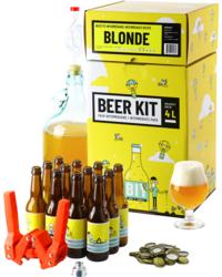 Kit à bière tout grain - Beer Kit Intermédiaire, je brasse et j'embouteille une bière blonde