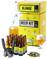 Kit de bière tout grain - Beer Kit Intermédiaire Complet, je brasse une blonde