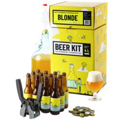 Kit à bière tout grain - Beer Kit Intermédiaire Complet Bière Blonde