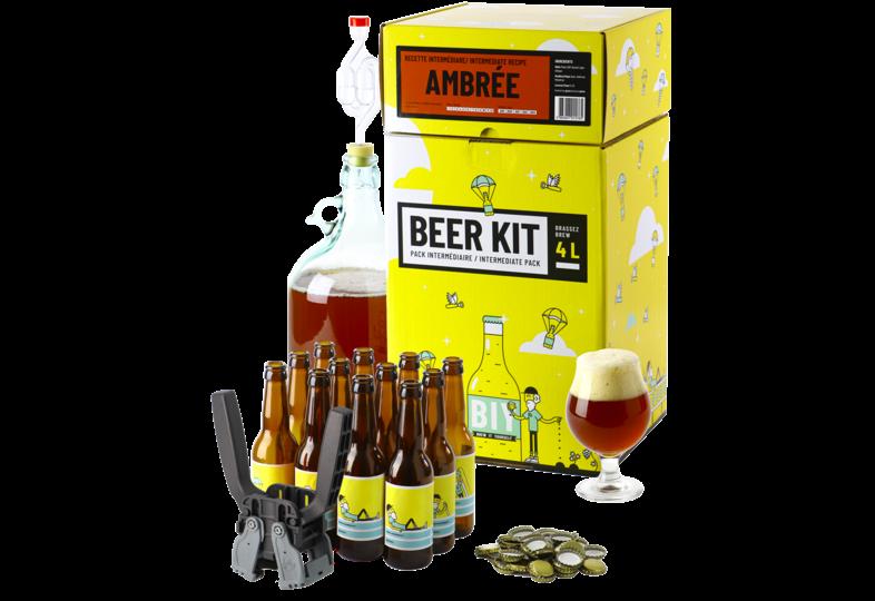 Moutpakket - Brouw Kit voor gevorderden: ik brouw en bottel een Amberbier