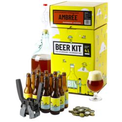 Kit à bière tout grain - Beer Kit Intermédiaire Complet Bière Ambrée