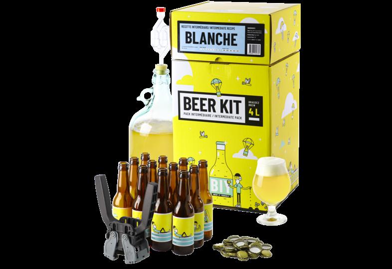 Kit à bière tout grain - Beer Kit Intermédiaire Complet Bière Blanche