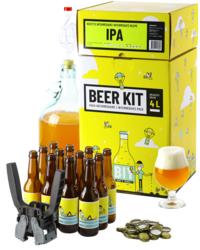 Kit de bière tout grain - Beer Kit Intermédiaire, je brasse et j'embouteille une bière IPA