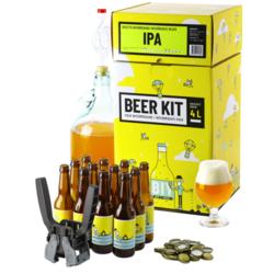 Kit de Cerveza Todo Grano - Beer Kit Intermédiaire, je brasse et j'embouteille une bière IPA