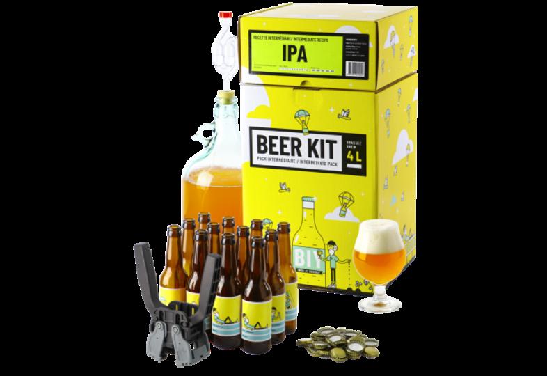 Kit à bière tout grain - Beer Kit Intermédiaire Complet Bière IPA