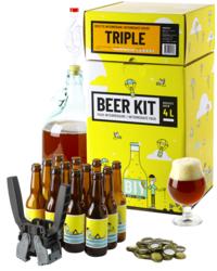 Moutpakket - Beer Kit voor gevorderden: ik brouw en bottel een Tripel