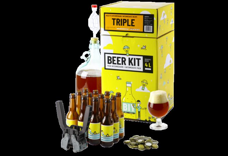 Kit à bière tout grain - Beer Kit Intermédiaire Complet Bière Triple