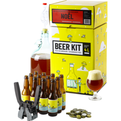 Kit à bière tout grain - Beer Kit Intermédiaire Complet Bière de Noël