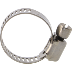 """Brewer s accessories - Worm Gear Clamp Stainless 1/4"""" - 7/8"""" OD"""