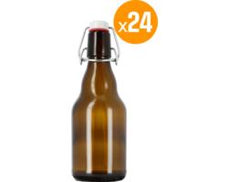 Brewing Accessories - 24 bouteilles 33 cl + 24 Bouchons mécaniques avec joint