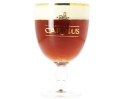 Beer glasses - Gouden Carolus 25cl glass
