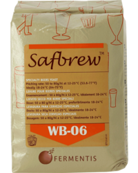 Levures pour fermentation - Levure sèche Safbrew WB-06 500 g