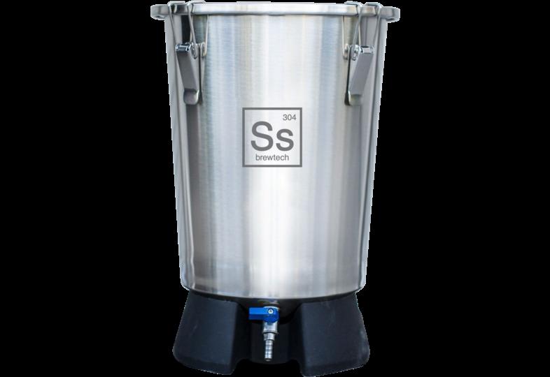 Accessoires du brasseur - Ss Brewtech - 3.5 gal Brew Bucket Mini/ Cuve de fermentation inox 12 L