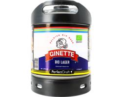 Fûts de bière - Fût 6L Ginette Lager Bio