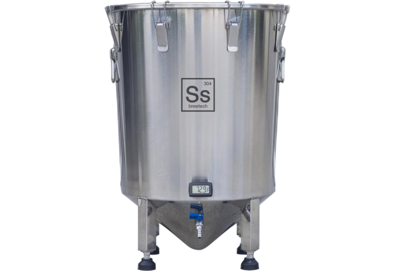 Outils de mesure - Ss Brewtech - 14 gallons Brew Bucket Brewmaster Edition Celcius/ Cuve de fermentation inox 53 litres Edition Celsius