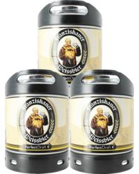 Bier Tapvatjes - Pack 3 tapvaten 6L Franziskaner Weissbier