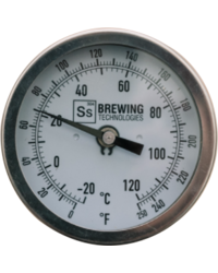 Accessoires du brasseur - Thermometer | Threaded for Brew Kettle w/ Bulkhead - Ss Brewtech