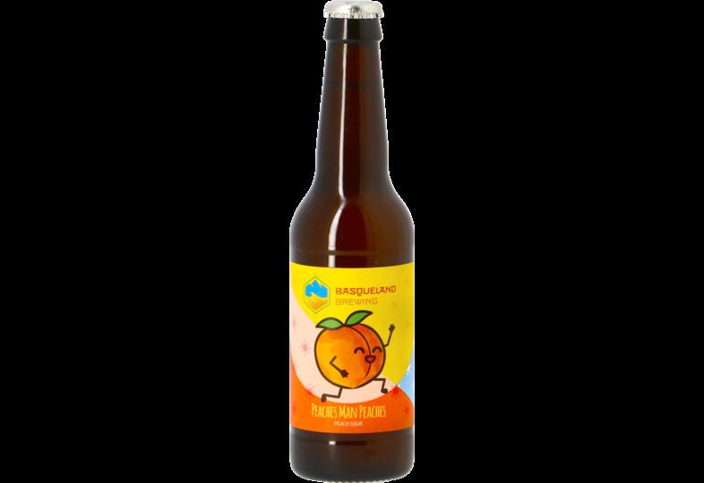 Bouteilles - Basqueland Peaches Man Peaches