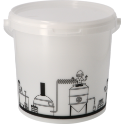 Accessoires du brasseur - Cubo de fermentación de 6,2l - Graduado