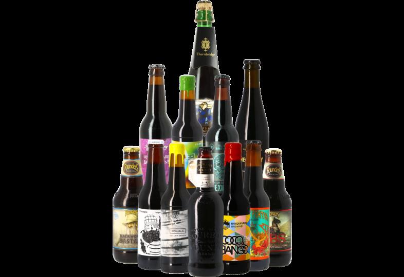 Accessoires et cadeaux - Assortiment de bières vieillies en fûts