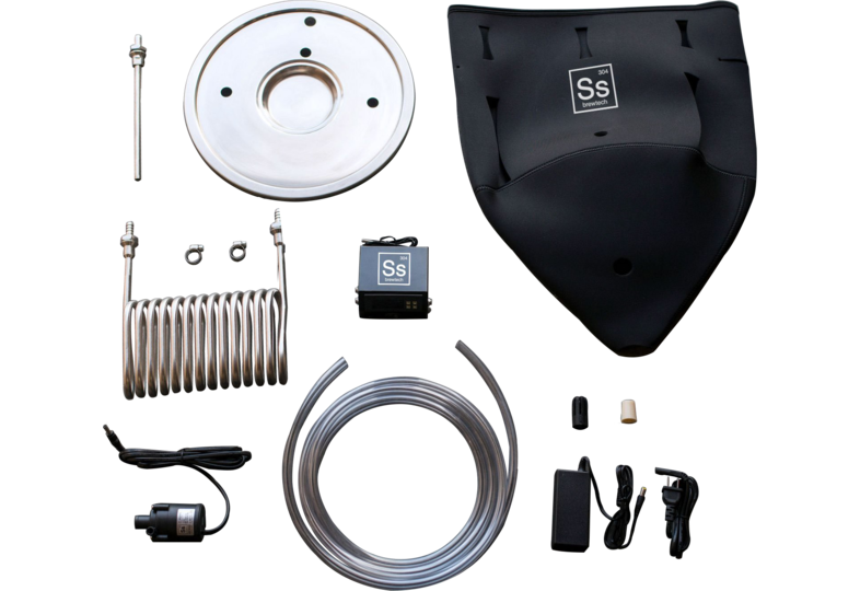 Accessoires du brasseur - FTSs - 14 gal Brew Bucket - Ss Brewtech