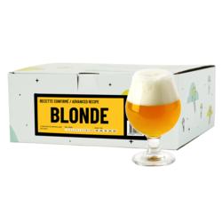 Kit de bière tout grain - Recette Bière Blonde - Recharge pour Beer Kit Confirmé