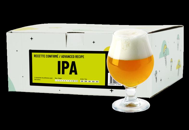 Kit à bière tout grain - Recette Bière IPA - Recharge pour Beer Kit Confirmé