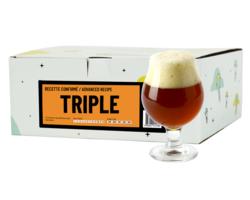 Kit de bière tout grain - Recette Bière Triple - Recharge pour Beer Kit Confirmé