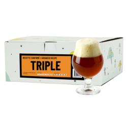 Kit à bière tout grain - Recette Bière Triple - Recharge pour Beer Kit Confirmé