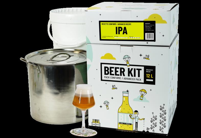 Kit à bière tout grain - Beer Kit Confirmé Bière IPA
