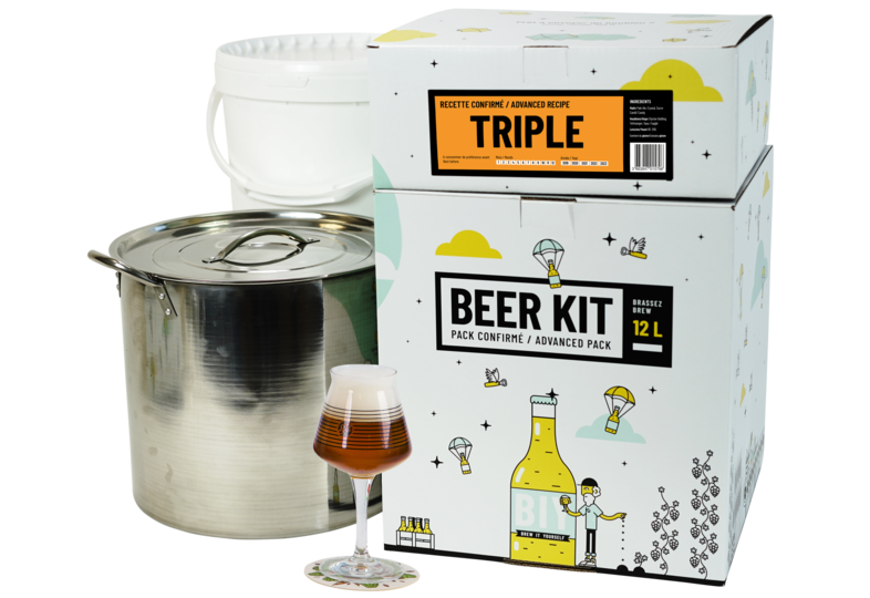 Kit à bière tout grain - Beer Kit Confirmé Bière Triple