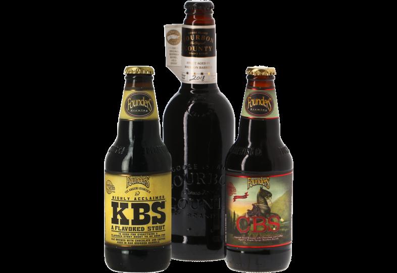 Accessoires et cadeaux - Pack 3 bières Barrel Aged