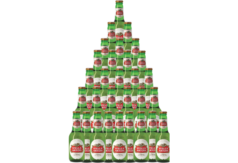 Accessoires et cadeaux - Pack 30 Stella Artois