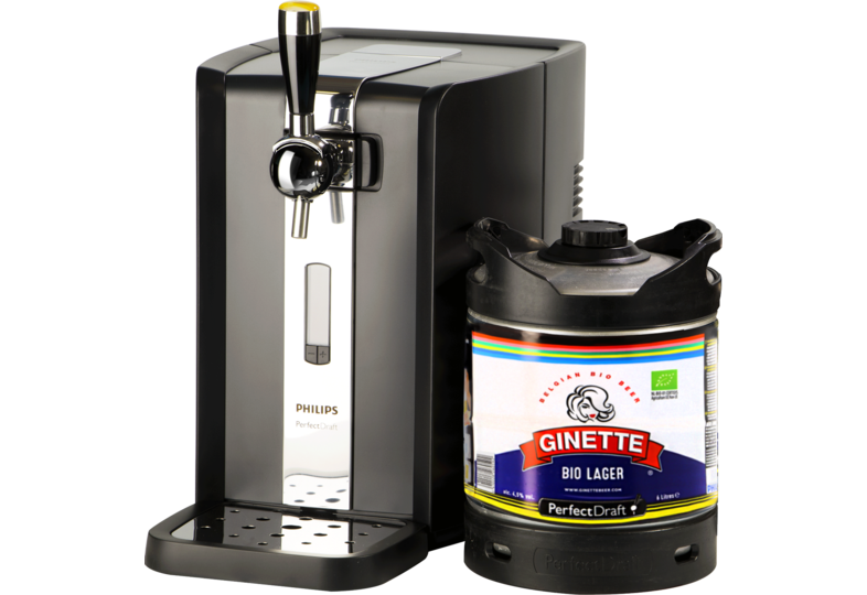 Beer dispensers - PerfectDraft Ginette Bio Dispenser Pack