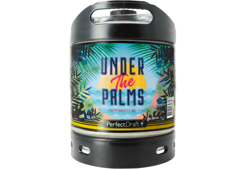 Fässer - Under the Palms Pils 6L Perfect Draft Fass - Mehrweg