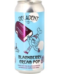 Flessen - Decadent Ales Blackberry Cream Pop