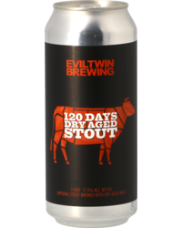 Flessen - Evil Twin 120 Days Dry Aged Stout