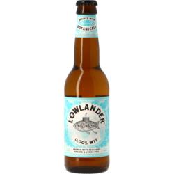 Flessen - Lowlander 0,00% Wit