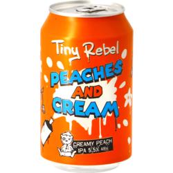Bouteilles - Tiny Rebel Peaches & Cream IPA