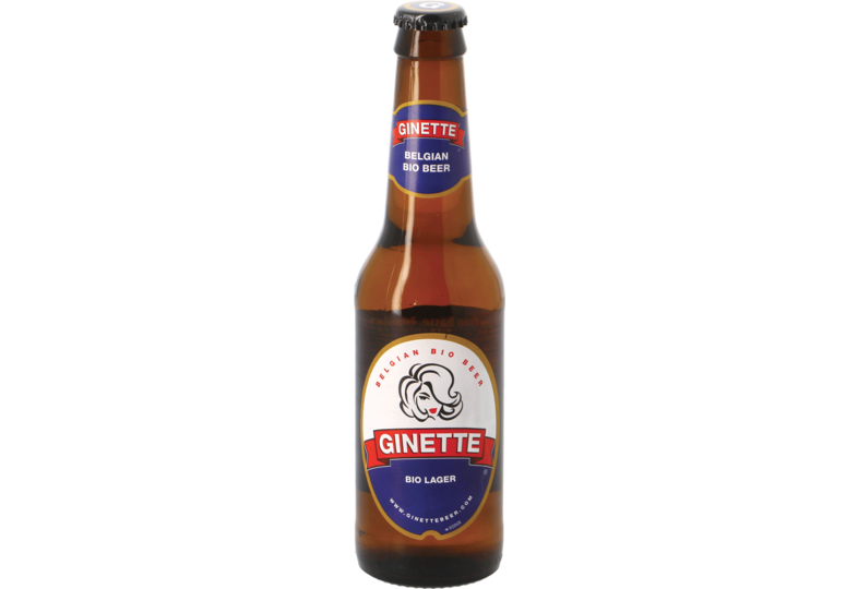 Bouteilles - Ginette Natural Lager Bio