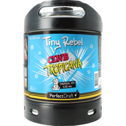 Tapvaten - Tiny Rebel CLWB Tropicana IPA PerfectDraft Vat 6L