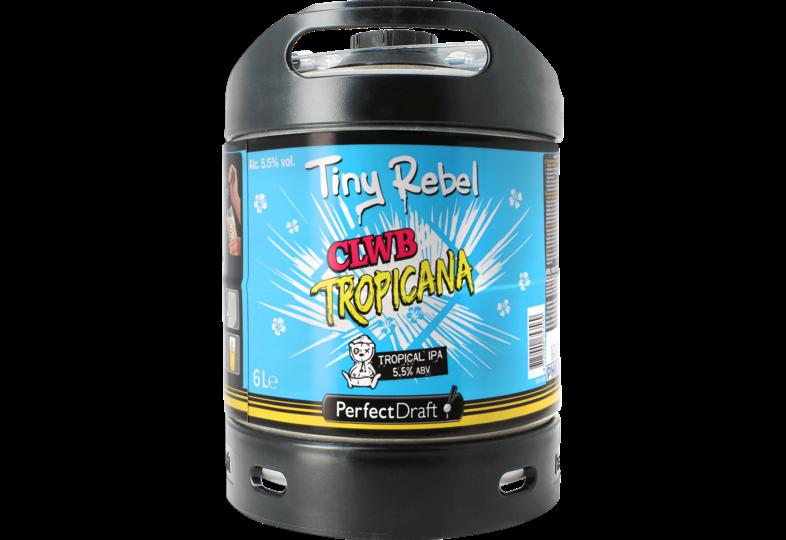 Fûts de bière - Fût 6L Tiny Rebel Clwb Tropicana