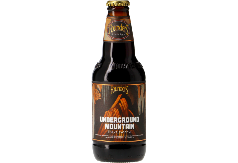 Flessen - Founders Underground Mountain Brown