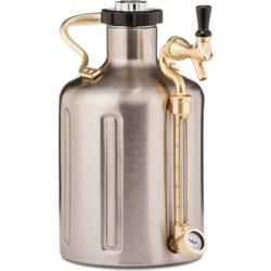 Brewing Accessories - uKeg GrowlerWerks 3,8 L acier inoxydable 128